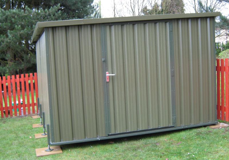 sb sheds fencing metal shed. Black Bedroom Furniture Sets. Home Design Ideas